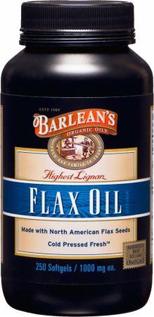Barlean's Highest Lignan Flax Oil Capsules