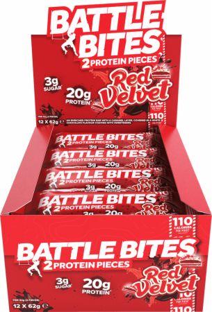 Image of Battle Oats Battle Bites 12 x 62g Bars Red Velvet