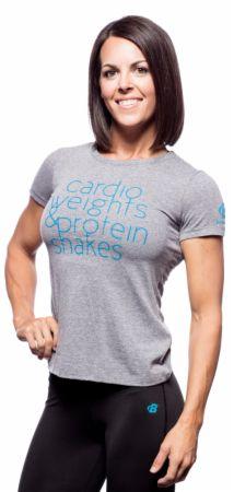 Women's Protein Shakes Tee