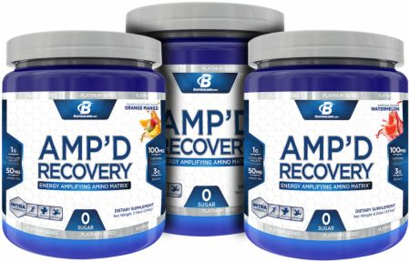 Image for Bodybuilding.com Platinum Series - Platinum Series Amp'd Stack