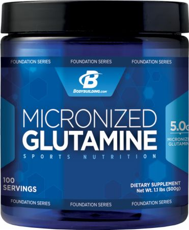 Bodybuilding.com Foundation Series Micronized Glutamine
