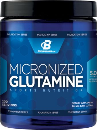 Image for Bodybuilding.com Foundation Series - Micronized Glutamine