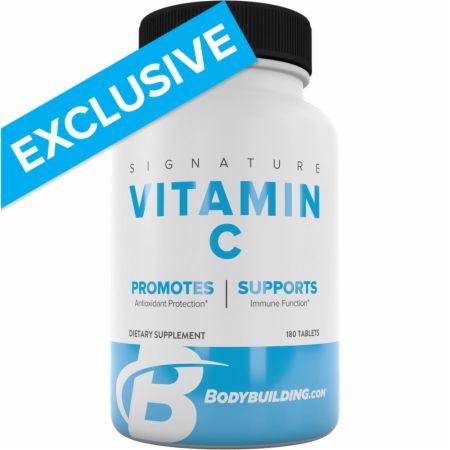 Bodybuilding.com Signature Signature Vitamin C, 180 Tablets