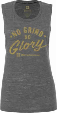 Women's No Grind No Glory Flowy Muscle Tank
