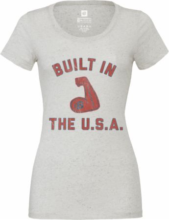 Women's Built In The USA Tri-Blend Tee