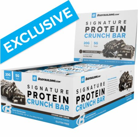 Bodybuilding.com Signature Protein Crunch Bars