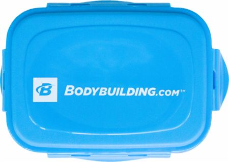 Meal Container Blue  - Meal Prep Containers & Bags Bodybuilding.com Accessories