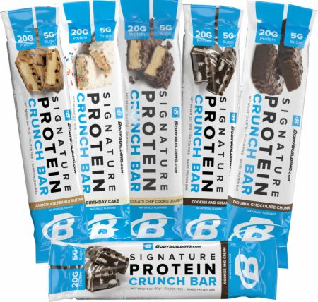 Build Your Own Signature Crunch Bar 6 Pack