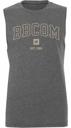 Est. 1999 Campus Muscle Tank Deep Heather XL - Men's Tank Tops Bodybuilding.com Clothing Bodybuilding.com Clothing Est. 1999 Campus Muscle Tank Deep Heather XL  - Made with Breathable, Light Weight Material and a Fitted Cut to Support Intense Exercise