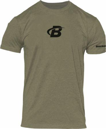 Image of Men's B Icon Tee Military Green XL - Men's T-Shirts Bodybuilding.com Clothing