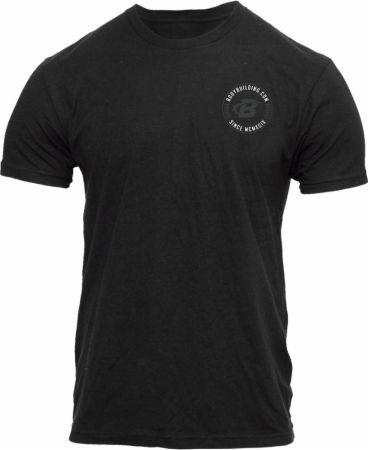 Image of Men's Badge Tee Black XS - Men's T-Shirts Bodybuilding.com Clothing