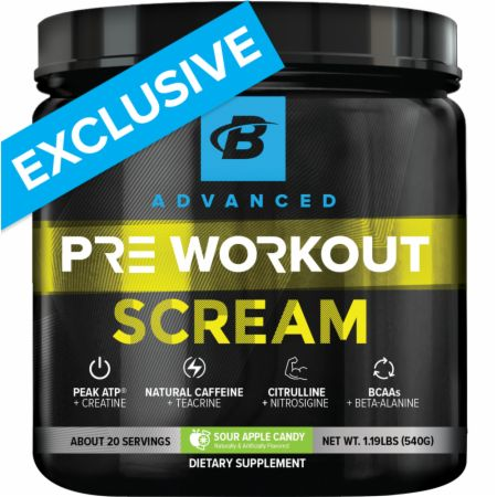 Scream Pre-Workout