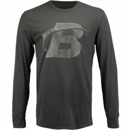 Blackout Collection B Logo Long Sleeve T-shirt