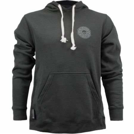 Blackout Collection Skull Badge Hoodie