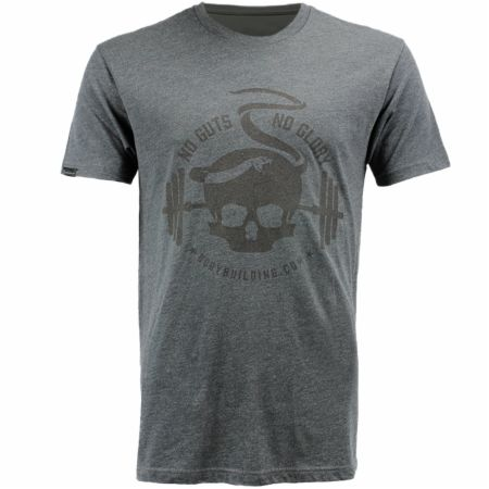 Blackout Collection Skull Snake Graphic T-shirt