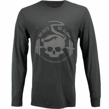 Blackout Collection Skull Snake Long Sleeve T-shirt