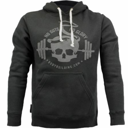 Blackout Collection Skull Snake Pullover Hoodie