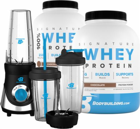 Signature 100% Whey Protein with Personal Blender