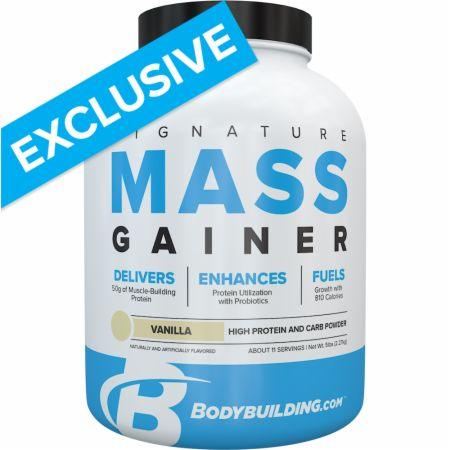 Bodybuilding.com Signature Mass Gainer