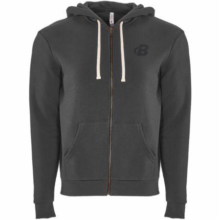B Logo Zip Up Hoodie