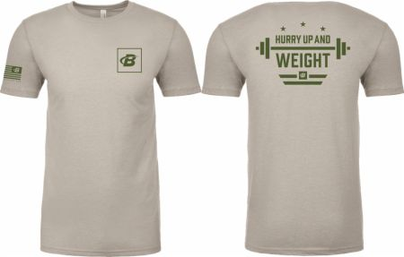 Hurry Up and Weight Tee