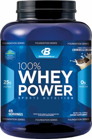 Image for Bodybuilding.com Foundation Series - 100% Whey Power