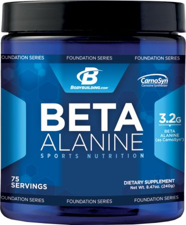 Beta alanine by bodybuilding com foundation series lowest price on