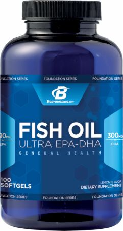 Bodybuilding.com Foundation Series Fish Oil Ultra EPA-DHA