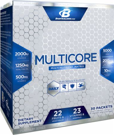 Image for Bodybuilding.com Platinum Series - MULTICORE
