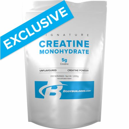 Image of Bodybuilding.com Signature Signature Creatine Monohydrate 1000 Grams Unflavoured