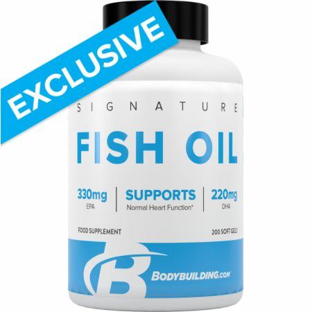 Image of Bodybuilding.com Signature Signature Fish Oil 200 Soft Gels