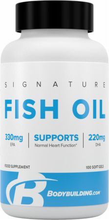 Image of Bodybuilding.com Signature Signature Fish Oil 100 Soft Gels