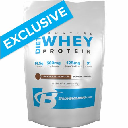 Image of Bodybuilding.com Signature Signature Diet Whey Protein 2 Kilograms Chocolate