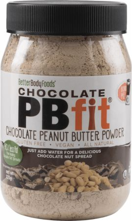 Image of BetterBody Foods PB Fit Peanut Butter Powder 225 Grams Chocolate Peanut Butter