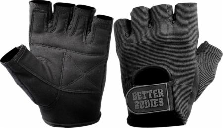 Image of Better Bodies Basic Gym Gloves Large Black