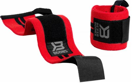 Image of Better Bodies BB Wrist Wraps 18 Inch Bright Red
