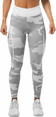 Image of Better Bodies Camo High Tights Large White Camo