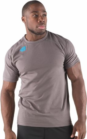 Image of Bodybuilding.com Clothing B-Elite Series Ignite Tee Large Charcoal