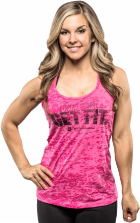 Women's Forget Skinny Get Fit Tank