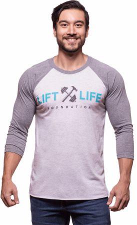 Lift Life 3/4 Sleeve Tri-Blend Raglan