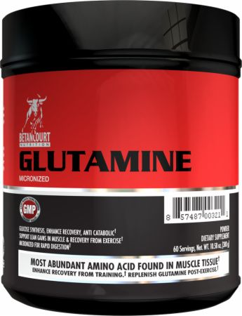 Image of Betancourt Nutrition Glutamine Micronized 300 Grams Unflavored