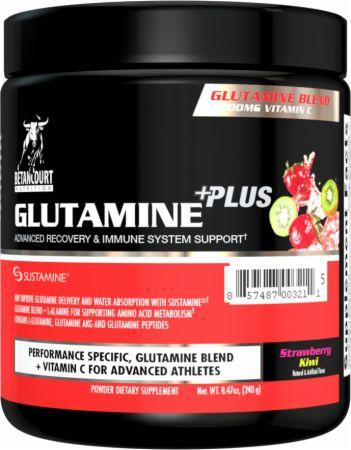 Betancourt Nutrition Glutamine Plus Strawberry Kiwi 240 Grams - Amino Acids & BCAAs