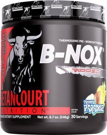 Image of B-Nox Ripped Tropical Paradise 30 Servings - Pre-Workout Betancourt Nutrition