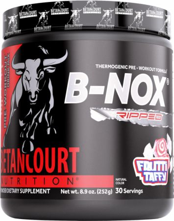 Image of B-Nox Ripped Frutti Taffy 30 Servings - Pre-Workout Betancourt Nutrition