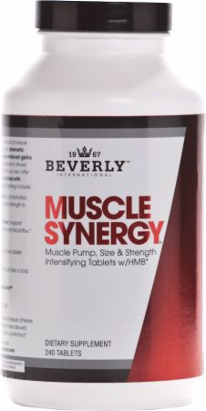Beverly International Muscle Synergy 240 Tablets - Creatine Capsules