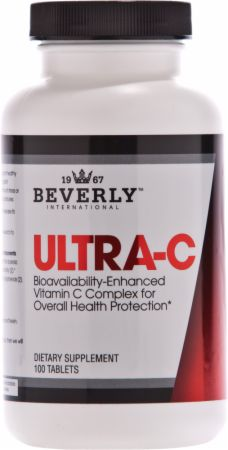 Image of Ultra-C Vitamin C Complex 100 Tablets - Immune System Support Beverly International
