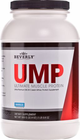 Image of UMP - Ultimate Muscle Protein Vanilla 2 Lbs. - Protein Powder Beverly International
