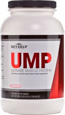 Image of UMP - Ultimate Muscle Protein Strawberry 2 Lbs. - Protein Powder Beverly International