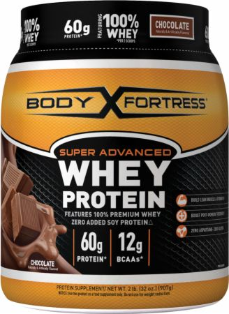 Image of Super Advanced Whey Protein Chocolate 2 Lbs. - Protein Powder Body Fortress