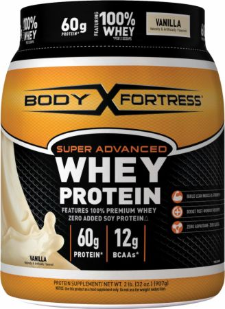 Image of Super Advanced Whey Protein Vanilla 2 Lbs. - Protein Powder Body Fortress